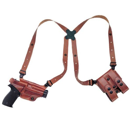 Galco Miami Classic Shoulder Holster System for 1911Colt, Kimber, Para, Springfield
