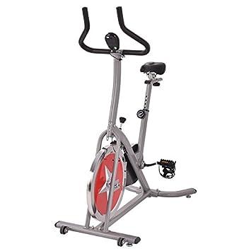 Plata Acero ejercicio bicicleta estacionaria ciclismo con eBook ...