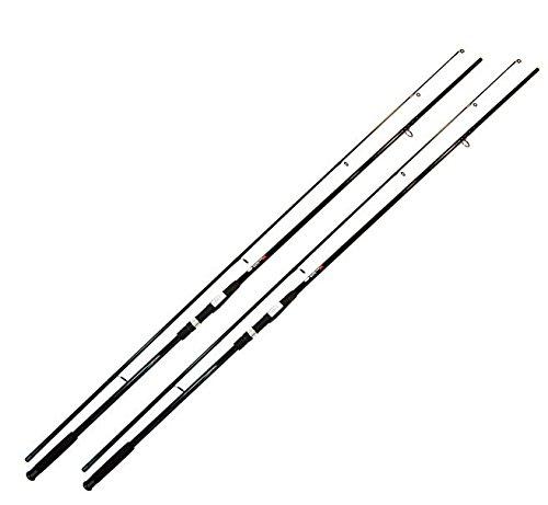 2 x Karpfen Angel Karpfenrute 3,60m 2,75 Lbs 2-Teilige Steckrute