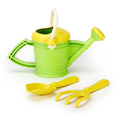 Gardening kids amazon green toys watering can toy green workwithnaturefo