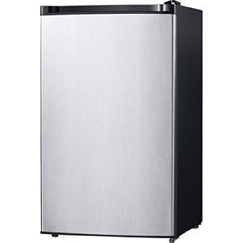 Daewoo, 4.4CuFt | Energy Star Spotless Steel | Compact Refrigerator | FR-044RVSE by DEAWOO