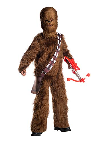 Rubie's Star Wars Classic Child's Deluxe Chewbacca Costume & Mask, Large]()