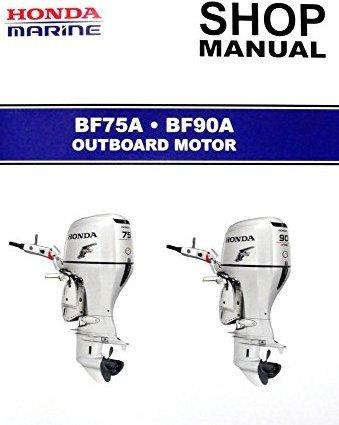 amazon com honda bf75a bf90a outboard engine repair service rh amazon com honda bf90a parts manual honda bf90 service manual pdf