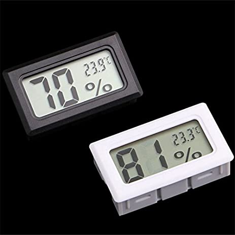 Indoor Outdoor Thermometer Indoor Wall Thermometer Mini Digital LCD Indoor  Convenient Temperature Sensor Humidity Meter Thermometer