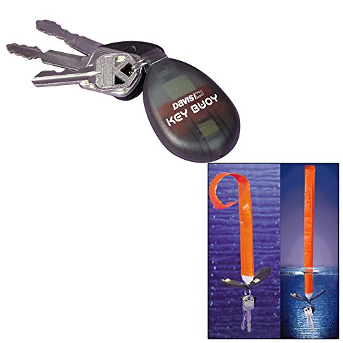 Davis Instruments 530 Key Fob Buoy Self-Inflating Key Ring Boat Marine Sail ()