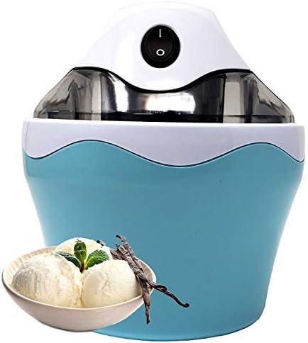 Automatic BPA Free Electric Mini Counter Top Ice Cream Maker 0.5 QT With Anti Skid Bottom, Make Quick Easy Home Made Ice cream, Frozen Yogurt Dessert Sorbet