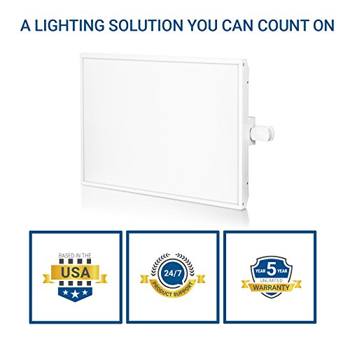 Hyperikon LED High Bay Light Fixture, Motion Sensor Included, 165W (500W Equivalent), 22000 Lumen, 5000K Indoor Area Warehouse Industrial Lighting, DLC and UL by Hyperikon (Image #6)