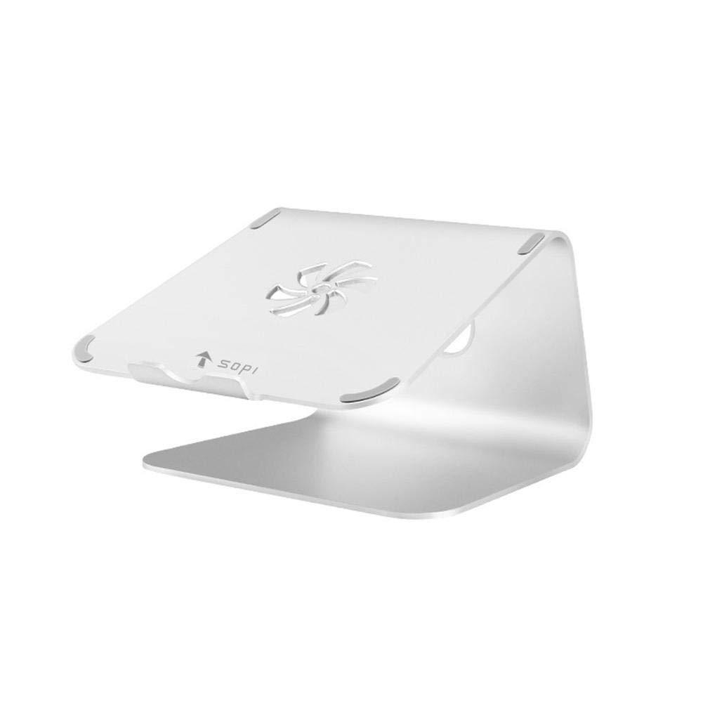singa-z Holder Desktop Increased Heat Shelf Aluminum Alloy Notebook Stand for MacBook Computer Heat Sink Base
