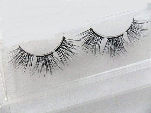 Smile Top hair small cross Synthetic local encryption diy false eyelashes