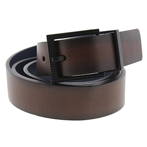 Kenneth Cole Men's 1 1/4 in. Reversible Resin Bottom Belt (Kenneth Cole Designer Belt)