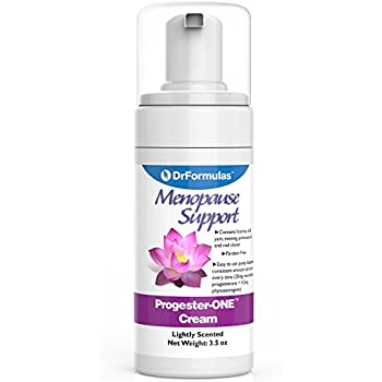 DrFormulas Progester-ONE Cream Bioidentical for Women Menopause Relief, Pregnancy , 3.5 oz (Formerly Mendapause Progressa)