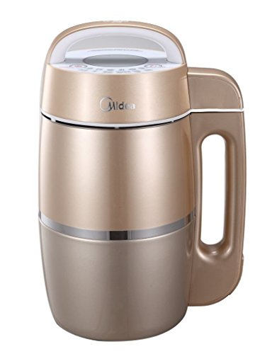 Midea Automatic Soy Milk Maker W/ Filterless & Full Stainless Steel