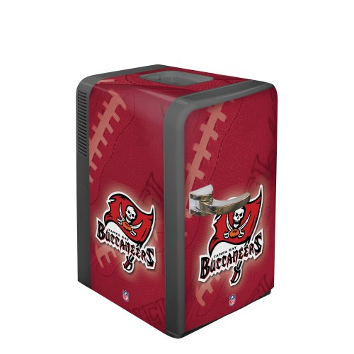 NFL Tampa Bay Buccaneers Portable Party Fridge, 15 - Tampa Outlets In