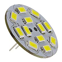 FAGL G4 6W 550-570LM 6000-6500K Natural White Light Vertical Pin LED Spot Bulb (12V)