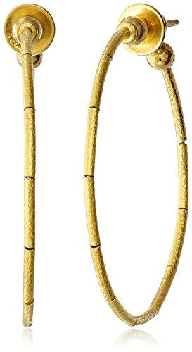 GURHAN Rain Gold Large Hoop Earrings