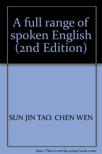 A full range of spoken English (2nd Edition)