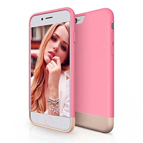 iPhone 6 Case, iPeli(TM) Ultimate Protection Scratch-Proof Vibrant Hard Case for iPhone 6 (4.7)(pink#)