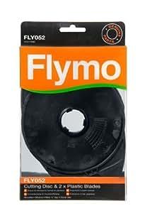 Genuino Flymo Plástico Corte disco MICROLITE, Hover Vac , SEGAR N Vac , minimo. FLY052