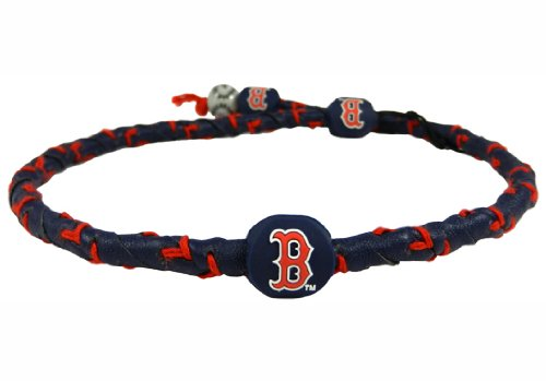 MLB Boston Red Sox Team Color Frozen Rope Baseball Necklace