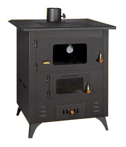 14 KW horno para cocinar estufa chimenea de hierro fundido de parte superior de combustible sólido: Amazon.es: Bricolaje y herramientas