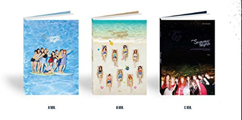 CD : Twice - Summer Night (Poster, Postcard, Photos, Asia - Import)