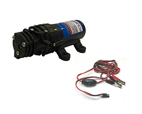 New 1.0 GPM 40 psi 12 Volt Diaphragm ON Demand WATER PUMP w/ Wire Power Harness by The ROP Shop by The ROP Shop (Image #8)