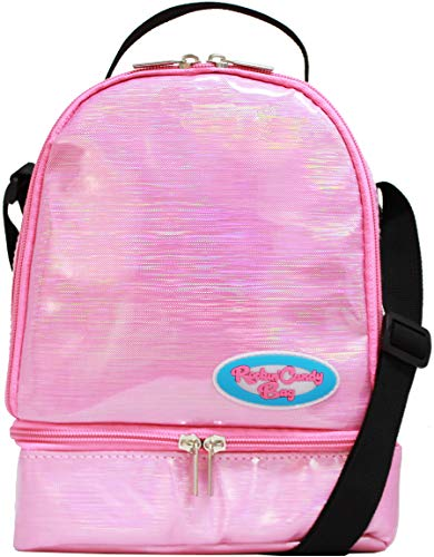 Rockin' Candy Lunch Bag - Back to School - Customizable Insulated Tote with Stickers - ()