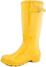 Amazon.com: Yellow - Boots / Shoes: Clothing Shoes &amp Jewelry