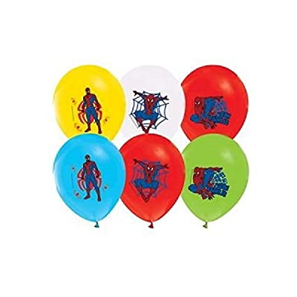 Amazon Spiderman Balloons 12 Pixar Latex Party Supplies