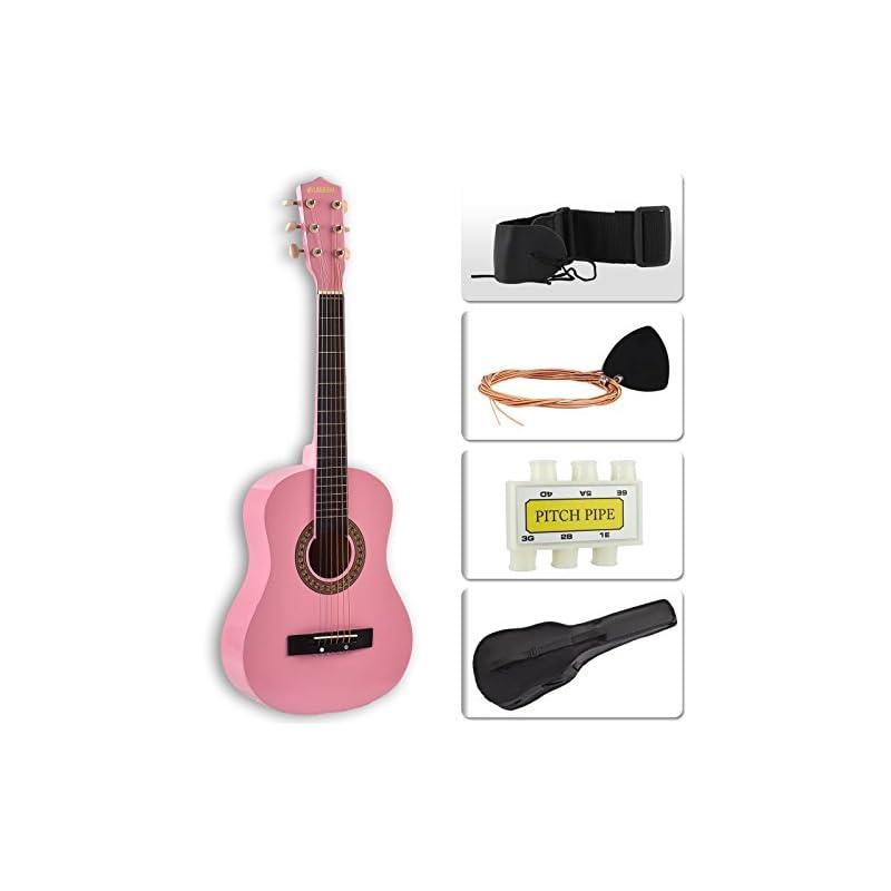 "LAGRIMA 30""coustic Guitar with Guitar Ca"