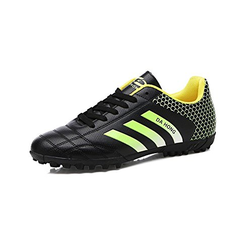 CJC Shoes Unisex Spikes Teenagers Training Boys Girls Astroturf Blade Football Trainers (Color : T1, Size : EU39/UK6.5)