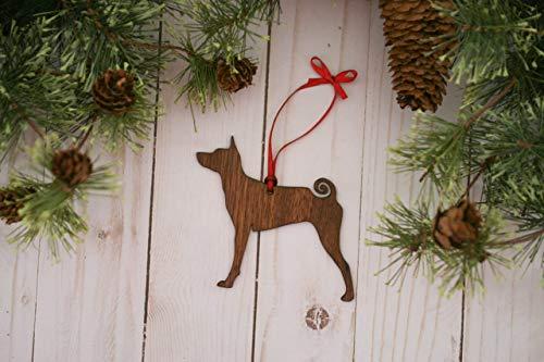 Basenji Ornaments - Basenji Dog Ornament