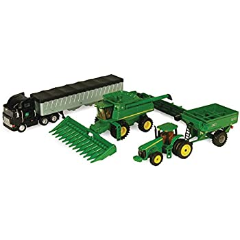 Ertl John Deere Harvesting Set, 1:64 Scale