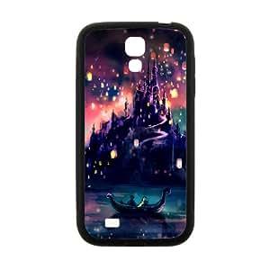 Disney Land Cartoon Castle Black samsung Galaxy S4 case