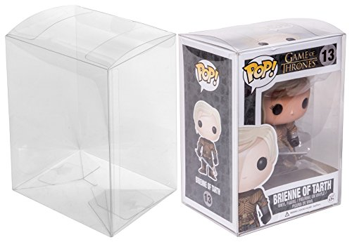 Red Co. Funko POP Clear Protectors, Standard 4 Inch Vinyl Figure Acid-Free Plastic Protective Case, 20 Pack by Red Co.