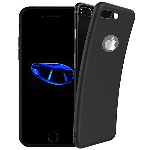iPhone 8 Plus Case,iPhone 7 Plus case,Novo Icon 2019 New Version Cover Case Slim Fit Premium TPU Shell Soft Feeling Full Protective Anti-Fingerprint Case for iPhone 7 Plus/8 - Case Premium Tpu