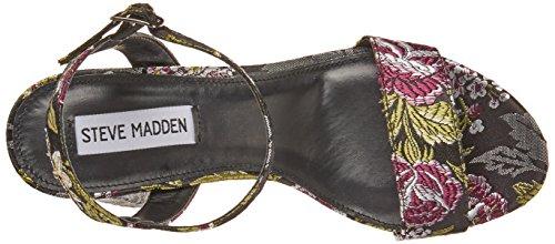 Steve Japanese Heel Black Sandals Multicolore Hight Madden 1rvZS81