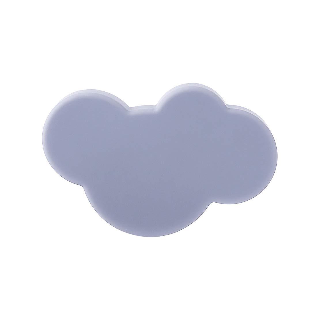 Forma de Nube Giplar 10 Piezas Pomos PVC Pomos y Tiradores Infantiles 54x36x23mm