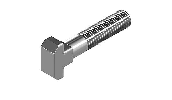 50 pcs tornillos cabeza de martillo DIN 186-Form b - acero ...