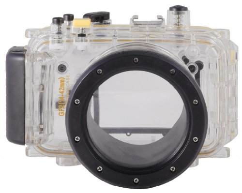 Polaroid Dive Rated Waterproof Underwater Housing Case For The Canon Powershot G1 X Digital Camera