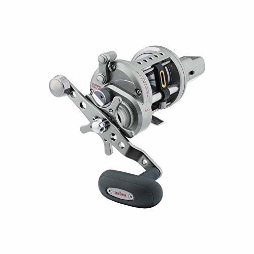 Direct Drive Fly Fishing Reel (Daiwa STTLW40LCHA 6.4:1 Saltist Levelwind, Line Counter, High Speed Reel)
