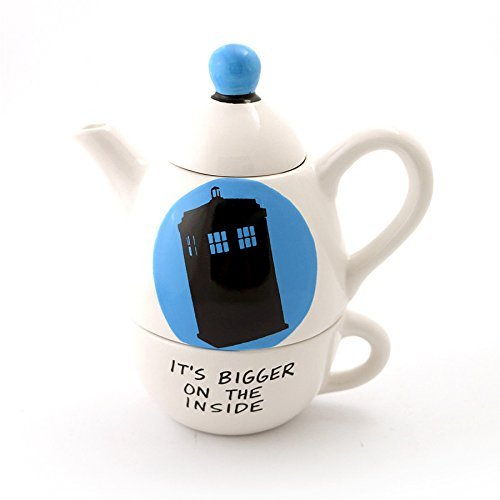 Dr. Who Teapot (Teapot Doctor Who)