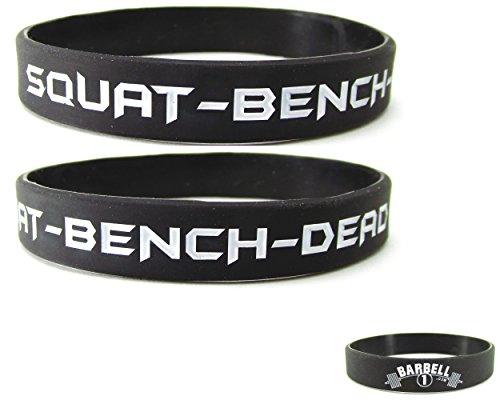 Powerlifting Bodybuilding Wristband Pack Bracelets product image
