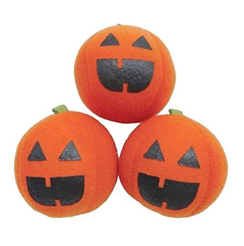Hyde & Eek! Boutique Pounce Catnip Stuffed Pumpkins Chase Halloween Cat Toys - 3 Count -