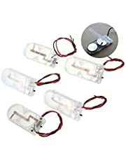 5pcs button cell battery holder housing 2X CR2032 6V with ON/OFF switch