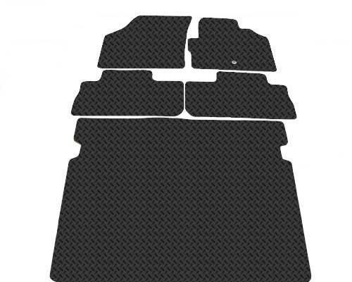 Landrover Freelander TWO 2006 Onwards Plus Bootmat Tailored Rubber Car Mats cyberspares ltd