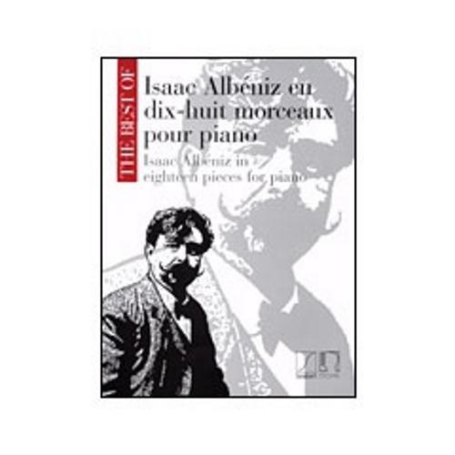 Hal Leonard The Best of Isaac Albeniz-18 Pieces for Piano (Albeniz Piano Pieces)