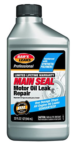 - Bar's Leaks MS-1 Main Seal Motor Oil Leak Repair 32. Fluid_Ounces