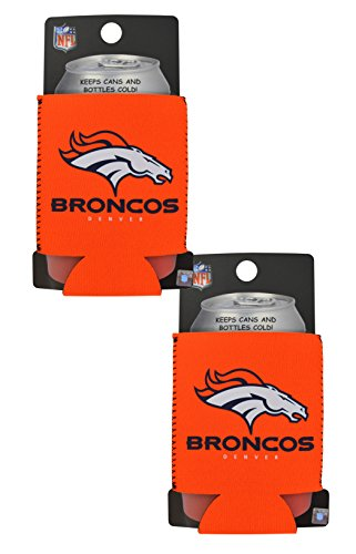 Official National Football League Fan Shop Authentic 2-Pack NFL Insulated 12 Oz Can Cooler (Denver -