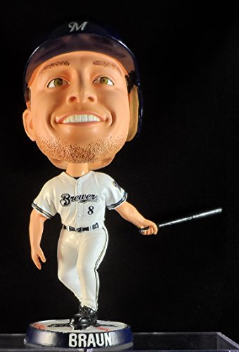 2007 Ryan Braun Milwaukee Brewers Bobblehead